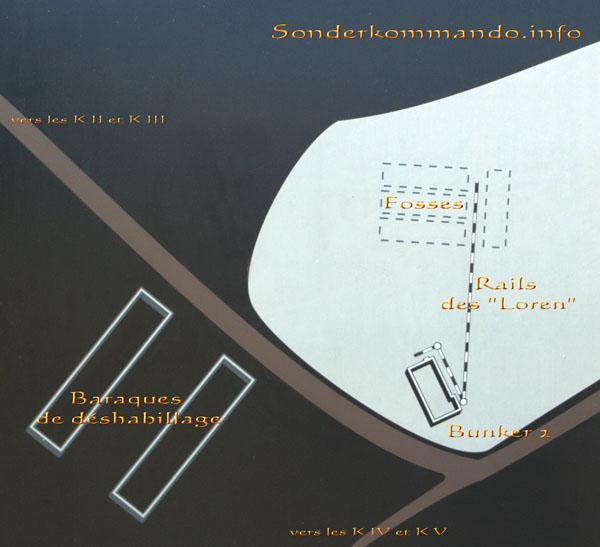 plan musée Auschwitz Bunker 2