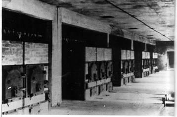 photo SS salle des fours K II Auschwitz Birkenau crématoire