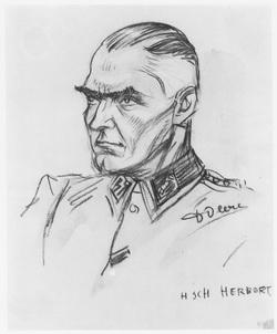 SS Herbert Auschwitz Birkenau Sonderkommando dessin David Olère